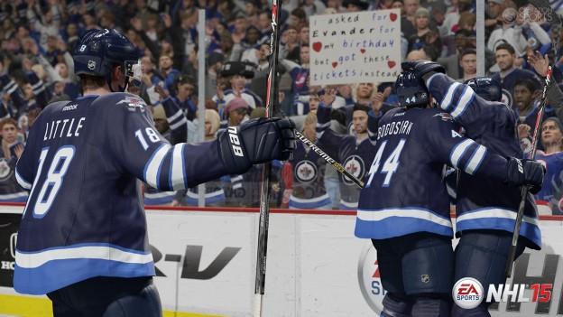 NHL 15 Screenshot #25 for PS4
