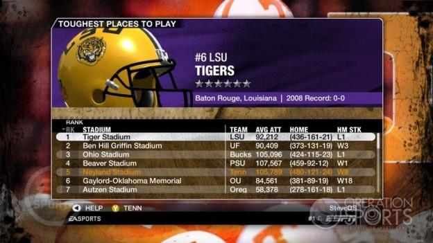 NCAA Football 09 Screenshot #279 for Xbox 360
