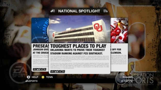 NCAA Football 09 Screenshot #280 for Xbox 360