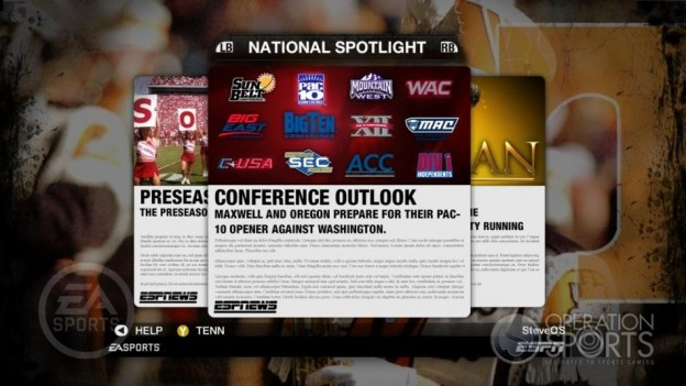 NCAA Football 09 Screenshot #283 for Xbox 360