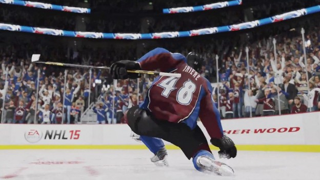 NHL 15 Screenshot #23 for Xbox One
