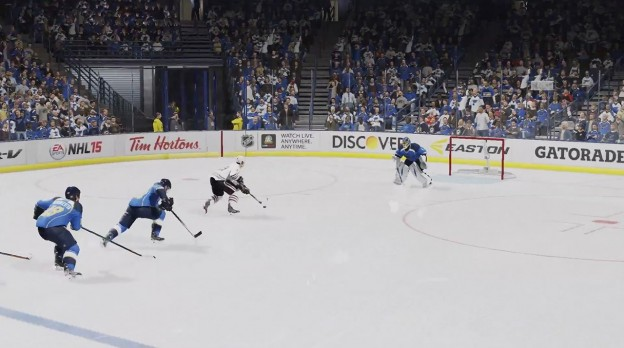 NHL 15 Screenshot #31 for Xbox One