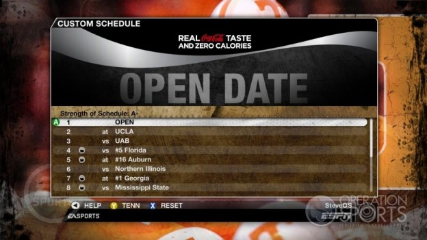 NCAA Football 09 Screenshot #306 for Xbox 360