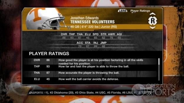 NCAA Football 09 Screenshot #307 for Xbox 360