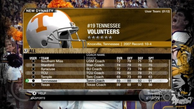NCAA Football 09 Screenshot #312 for Xbox 360