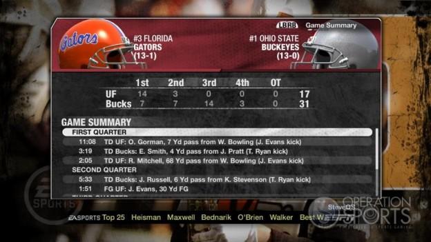 NCAA Football 09 Screenshot #313 for Xbox 360