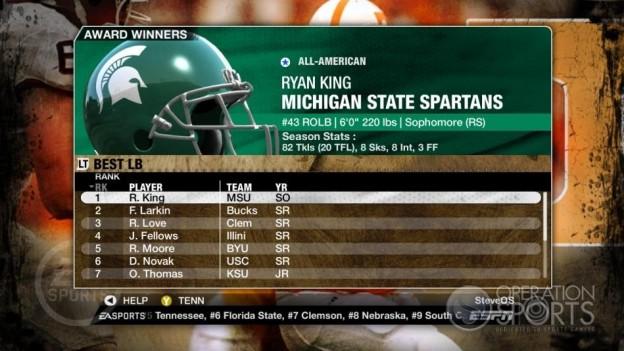 NCAA Football 09 Screenshot #318 for Xbox 360