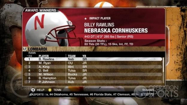 NCAA Football 09 Screenshot #319 for Xbox 360
