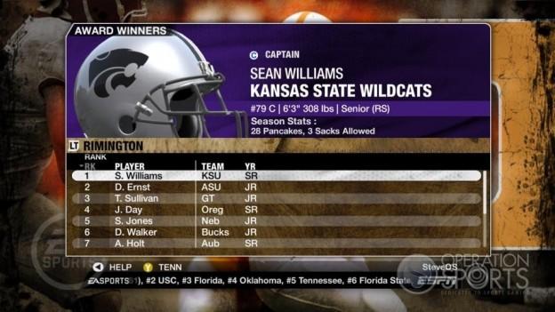 NCAA Football 09 Screenshot #320 for Xbox 360