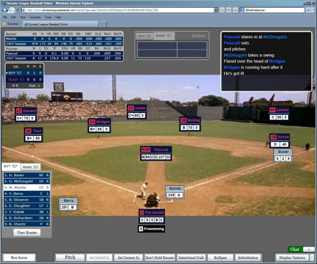 Dynasty League Baseball Online Screenshot #50 for PC