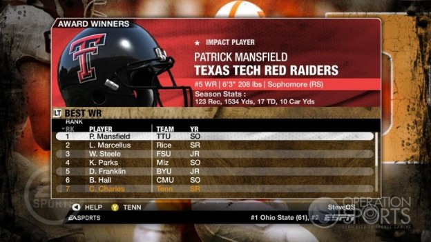 NCAA Football 09 Screenshot #323 for Xbox 360