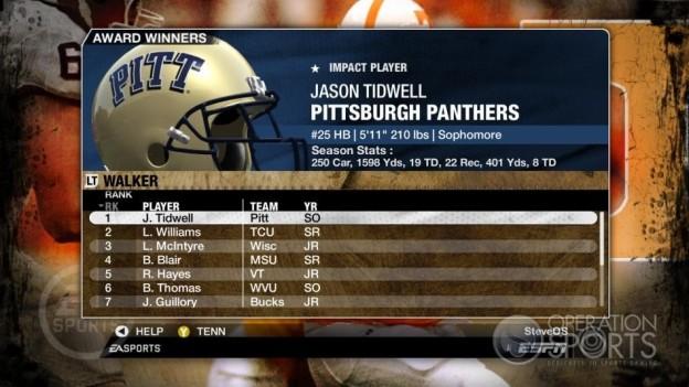 NCAA Football 09 Screenshot #324 for Xbox 360