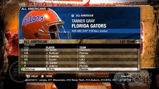 NCAA Football 09 Screenshot #328 for Xbox 360