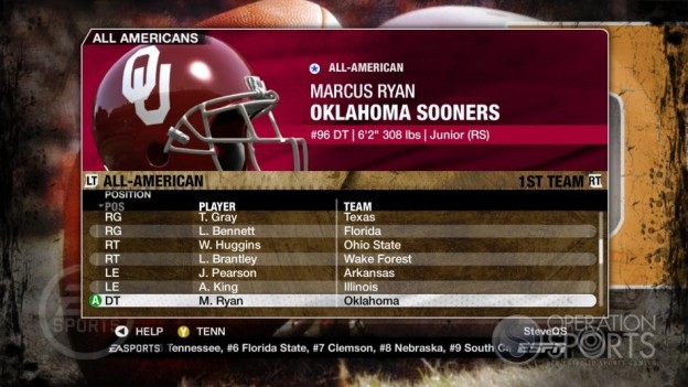 NCAA Football 09 Screenshot #330 for Xbox 360