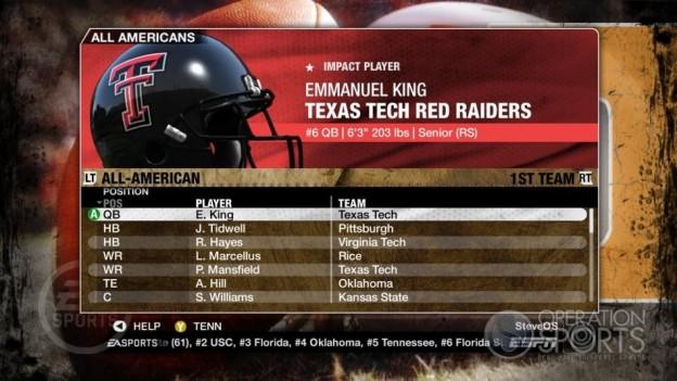 NCAA Football 09 Screenshot #331 for Xbox 360