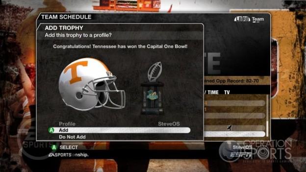NCAA Football 09 Screenshot #339 for Xbox 360