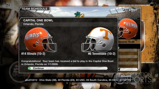 NCAA Football 09 Screenshot #341 for Xbox 360