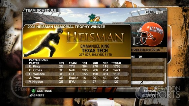 NCAA Football 09 Screenshot #342 for Xbox 360