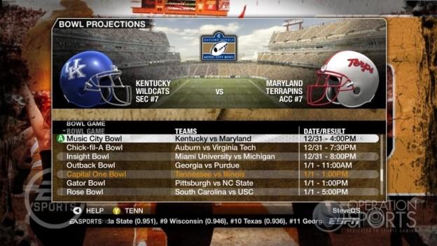 NCAA Football 09 Screenshot #343 for Xbox 360