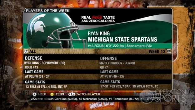 NCAA Football 09 Screenshot #346 for Xbox 360