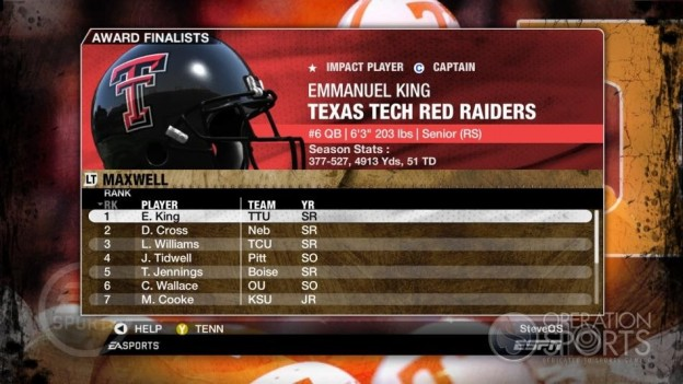 NCAA Football 09 Screenshot #347 for Xbox 360