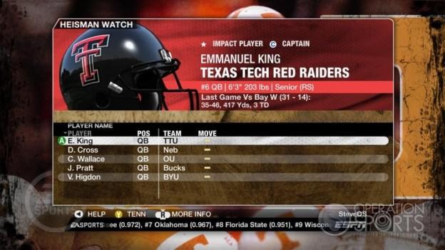 NCAA Football 09 Screenshot #348 for Xbox 360