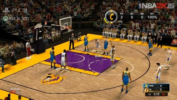 NBA 2K15 Screenshot #2 for PS3