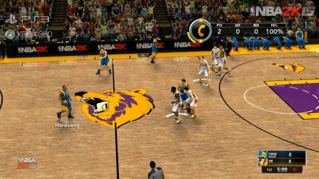 NBA 2K15 Screenshot #1 for Xbox 360