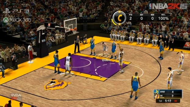 NBA 2K15 Screenshot #2 for Xbox 360