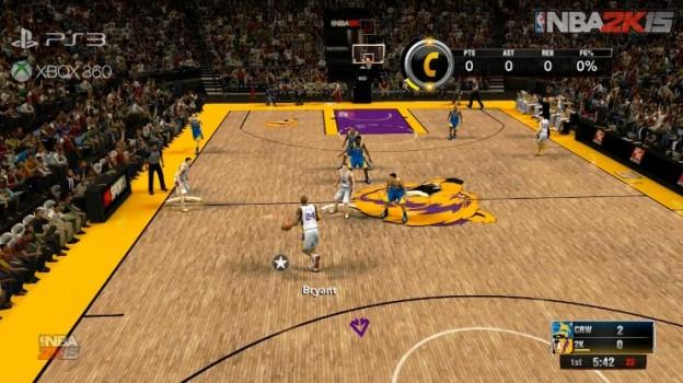 NBA 2K15 Screenshot #3 for Xbox 360