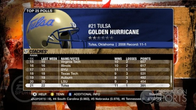NCAA Football 09 Screenshot #352 for Xbox 360