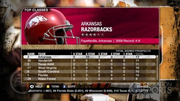 NCAA Football 09 Screenshot #363 for Xbox 360