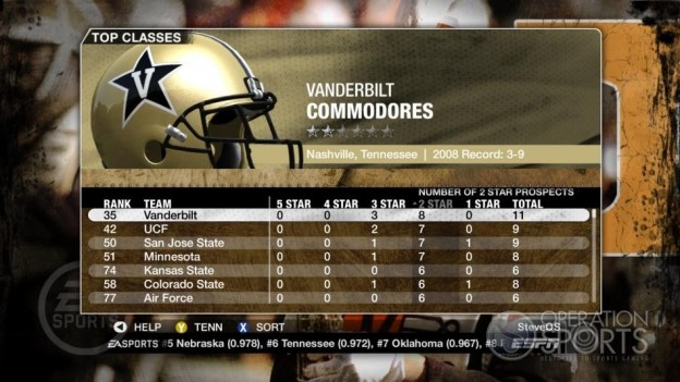 NCAA Football 09 Screenshot #365 for Xbox 360