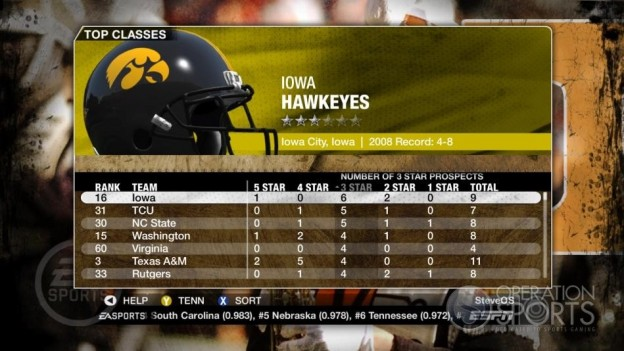 NCAA Football 09 Screenshot #366 for Xbox 360