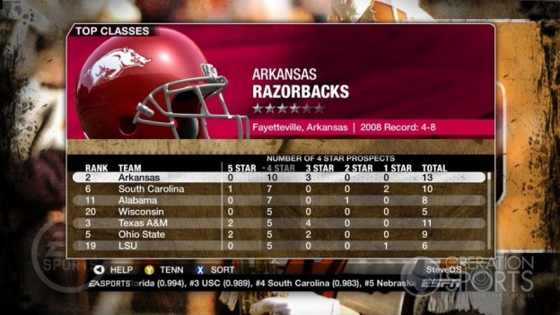 NCAA Football 09 Screenshot #367 for Xbox 360