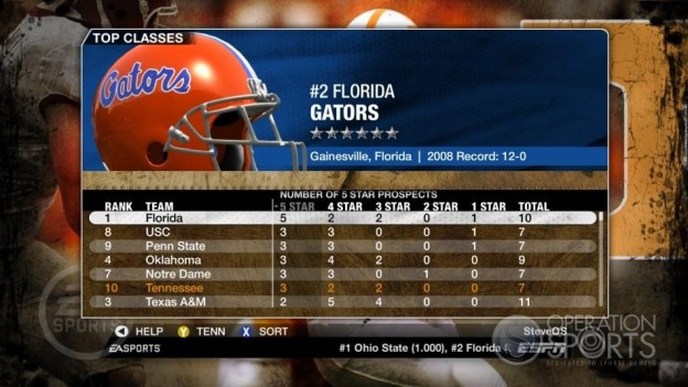 NCAA Football 09 Screenshot #368 for Xbox 360