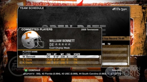 NCAA Football 09 Screenshot #369 for Xbox 360