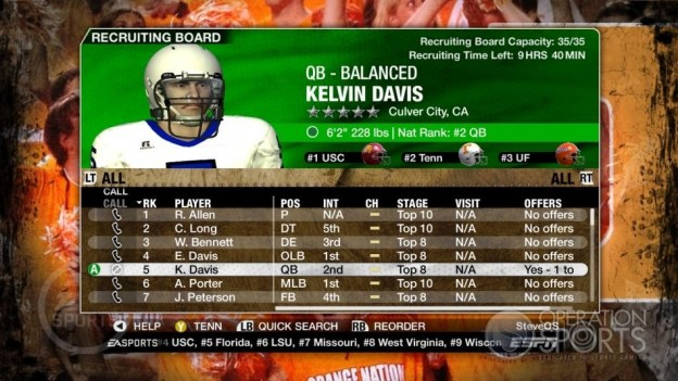 NCAA Football 09 Screenshot #373 for Xbox 360