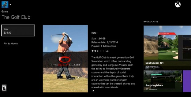 The Golf Club Screenshot #70 for Xbox One