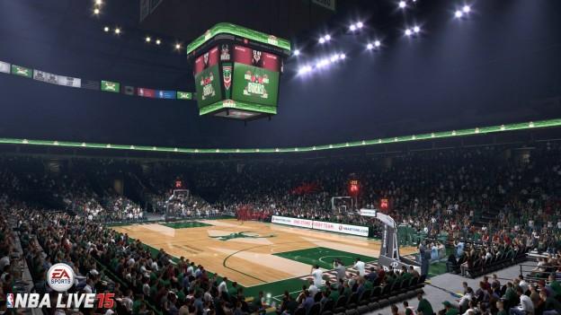 NBA Live 15 Screenshot #24 for PS4