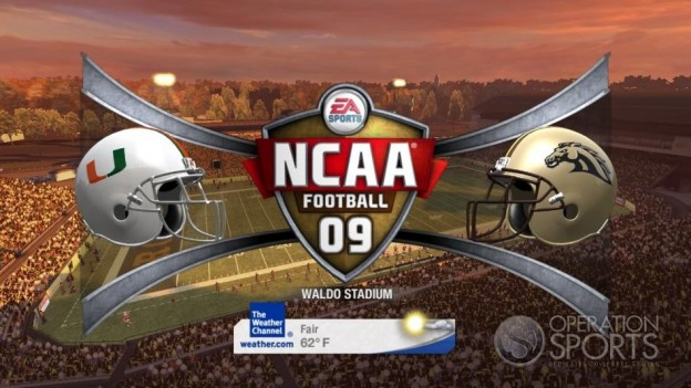 NCAA Football 09 Screenshot #374 for Xbox 360