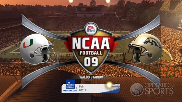 NCAA Football 09 Screenshot #375 for Xbox 360