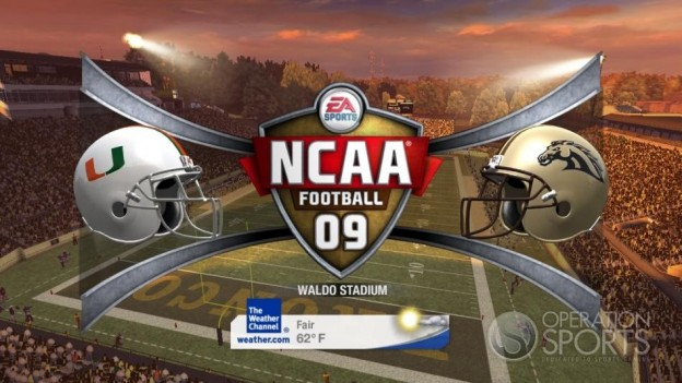 NCAA Football 09 Screenshot #376 for Xbox 360