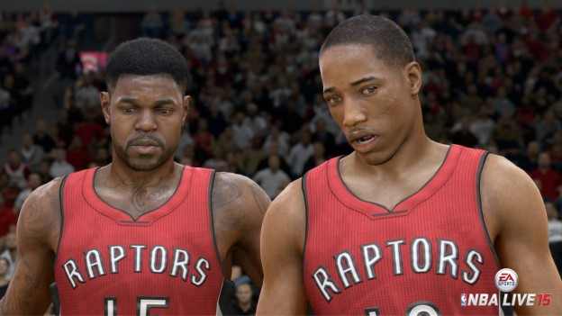 NBA Live 15 Screenshot #47 for PS4