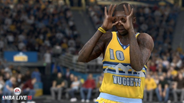 NBA Live 15 Screenshot #49 for PS4