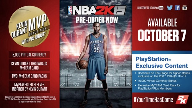NBA 2K15 Screenshot #31 for PS4