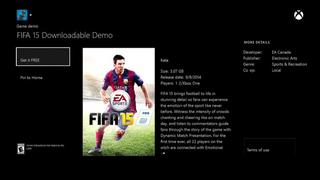 FIFA 15 Screenshot #52 for Xbox One