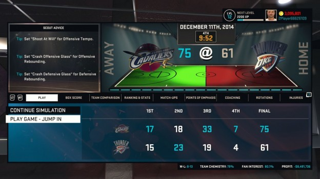 NBA 2K15 Screenshot #48 for PS4