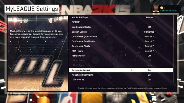 NBA 2K15 Screenshot #54 for PS4