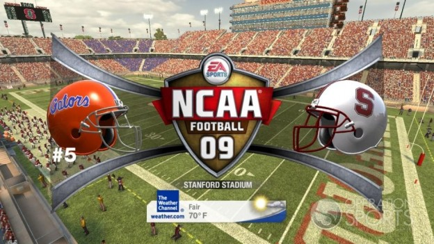 NCAA Football 09 Screenshot #387 for Xbox 360